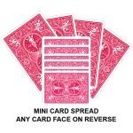 Mini Card Spread Gaff Playing Card