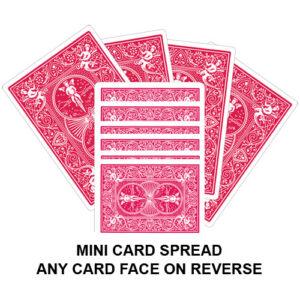 Mini Card Spread Gaff Playing Card