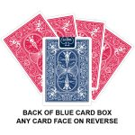 Back Of Blue Card Box Gaff Playing Card