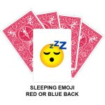 Sleeping Emoji Gaff Playing Card