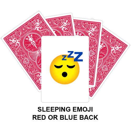 Sleeping Emoji Gaff Playing Card