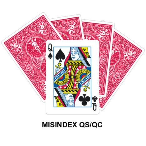 Mis Indexed QS/QC gaff card