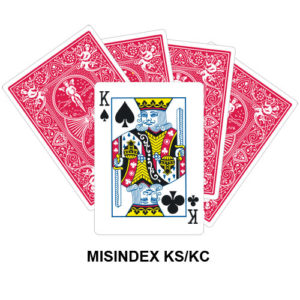 Mis Indexed KS/KC gaff card