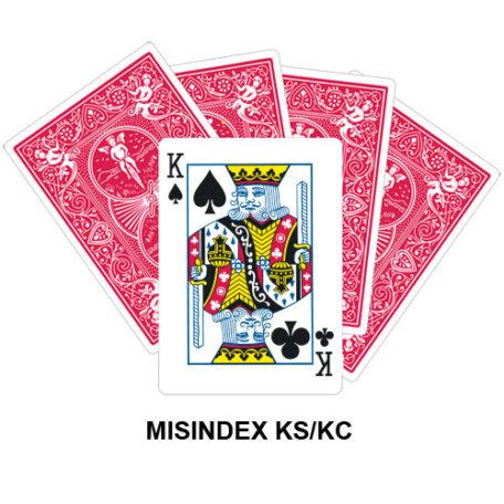 Mis Indexed KS/KC gaff card