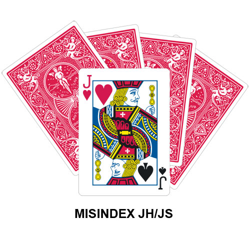 Mis Indexed JH/JS gaff card