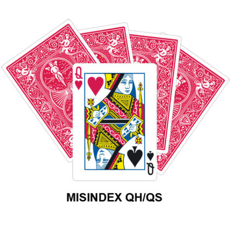 Mis Indexed QH/QS gaff card