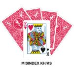 Mis Indexed KH/KS gaff card