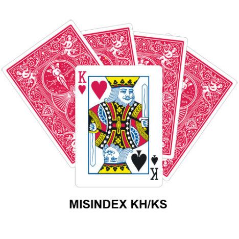 Mis Indexed KH/KS gaff card
