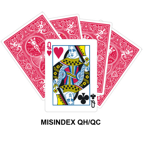 Mis Indexed QH/QC gaff card
