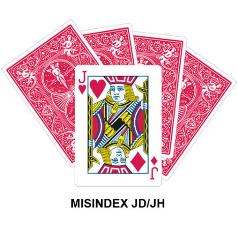 Mis Indexed JD/JH gaff card