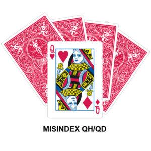 Mis Indexed QH/QD gaff card