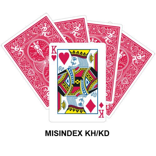 Mis Indexed KH/KD gaff card