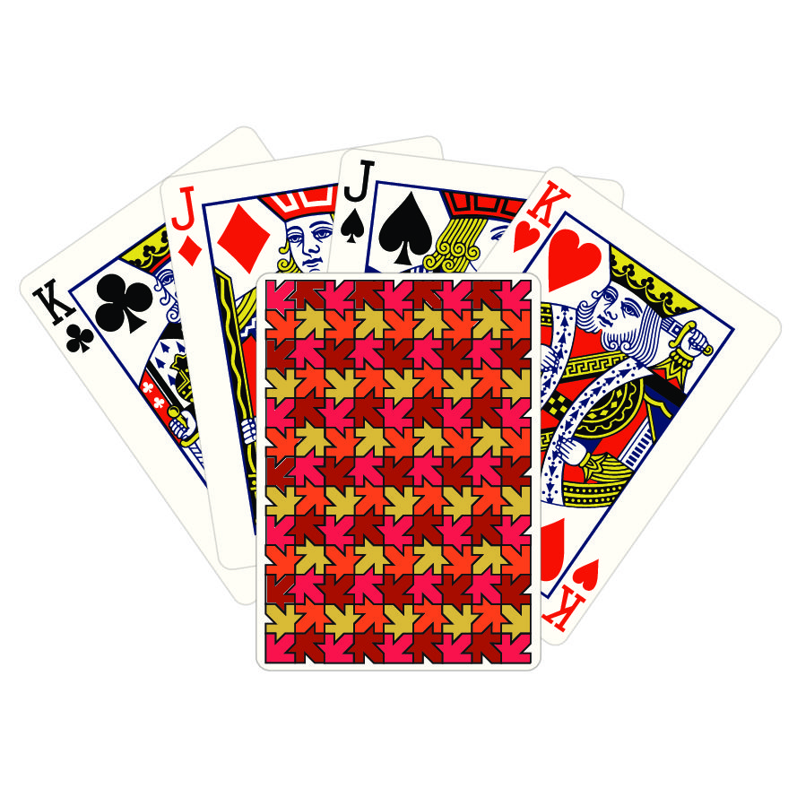Autumn Playing Cards – Bicycle Stock