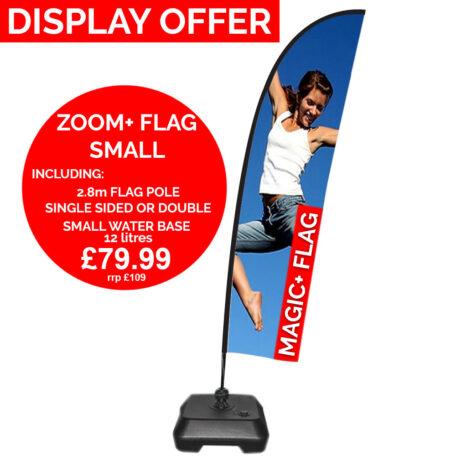 Zoom Plus Flag Printed Small