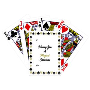 Magical Christmas – Playing Card Christmas Cards