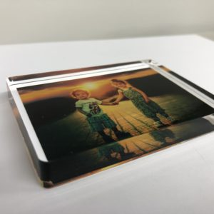 photo blocks printed on acrylic