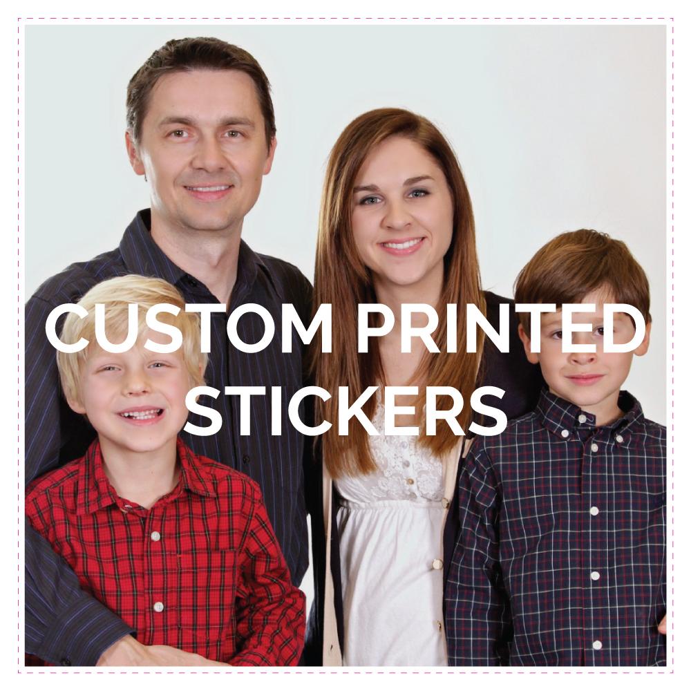 Vinyl Stickers SQUARE