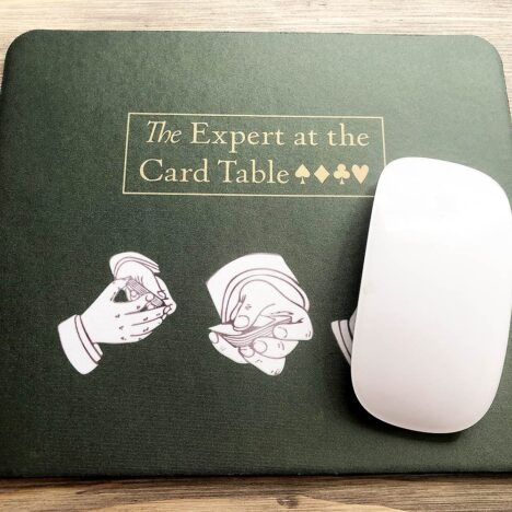 At the card table Erdnase mouse mat