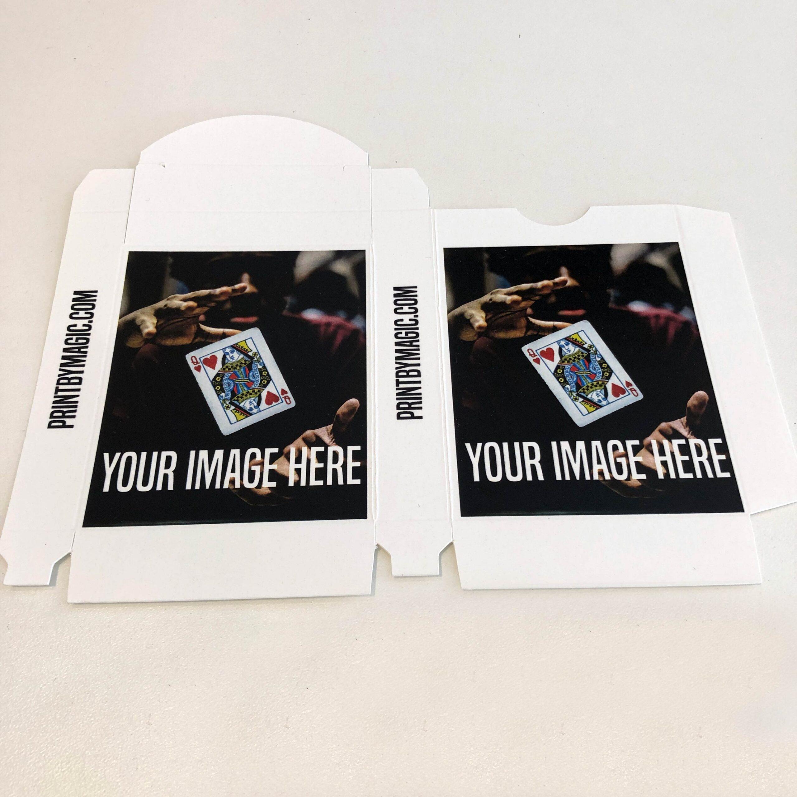 Custom Printed Card Box USPCC Style 88x63mm
