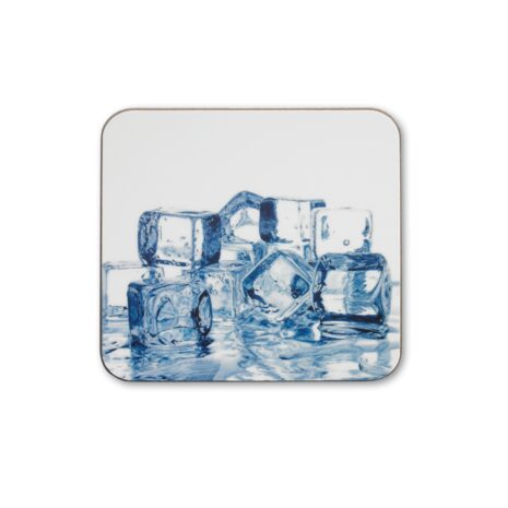 Personalised square hardboard coasters