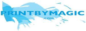 Printbymagic printers stockport logo