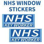 NHS KEY WORKER WINDOW STICKER