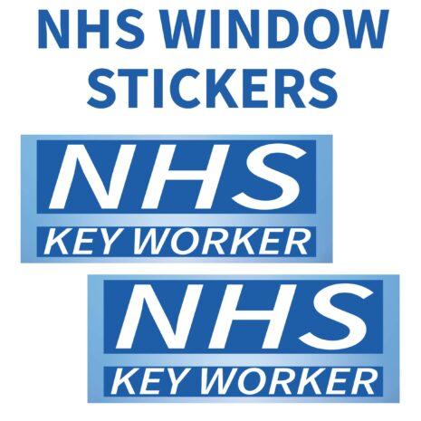 NHS KEY WORKER WINDOW STICKER