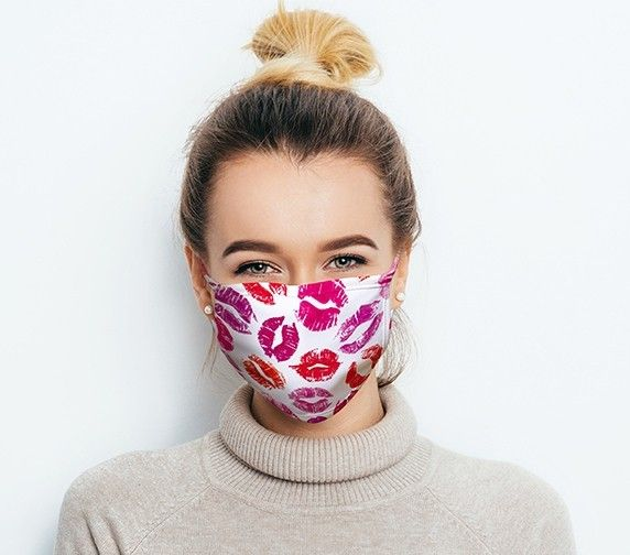 Child-Size Personalised Face Mask Cloth - Your Image
