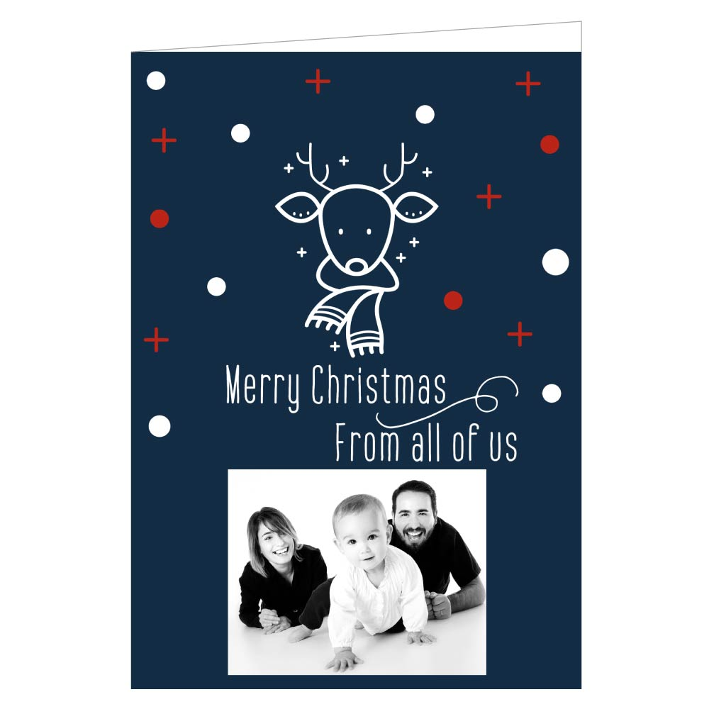 Personalised Christmas Cards - Design Your Own A5 / A6