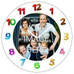 personalised Clock - Your Image Printed