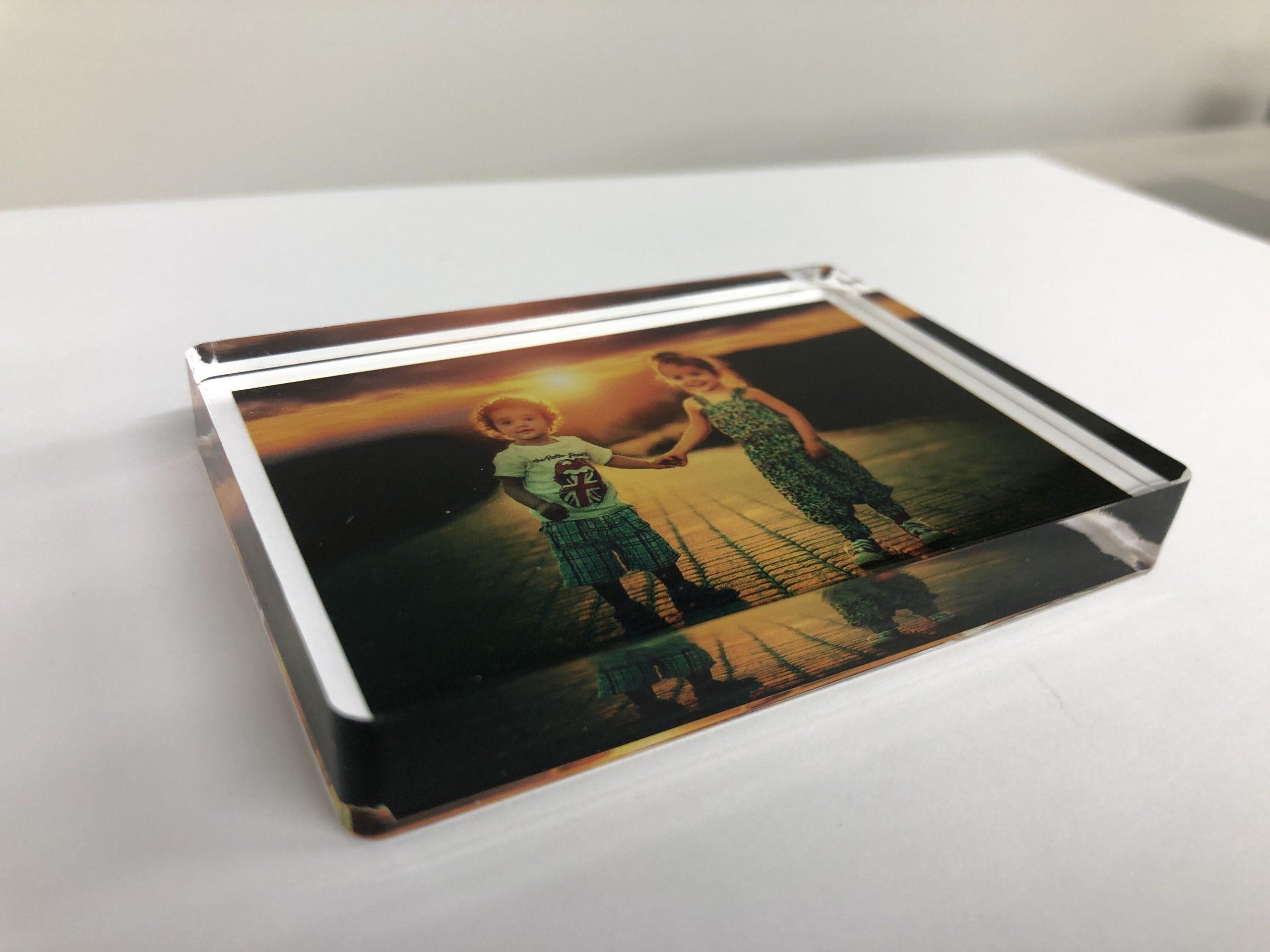 photo blocks printed on acrylic