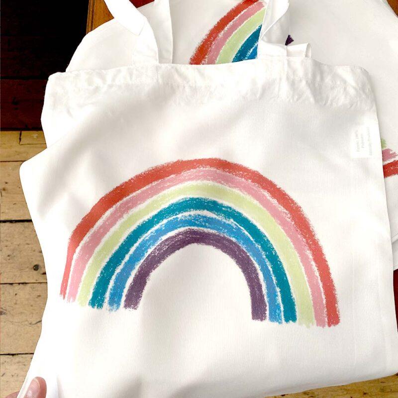 Rainbow Tote NHS BAG