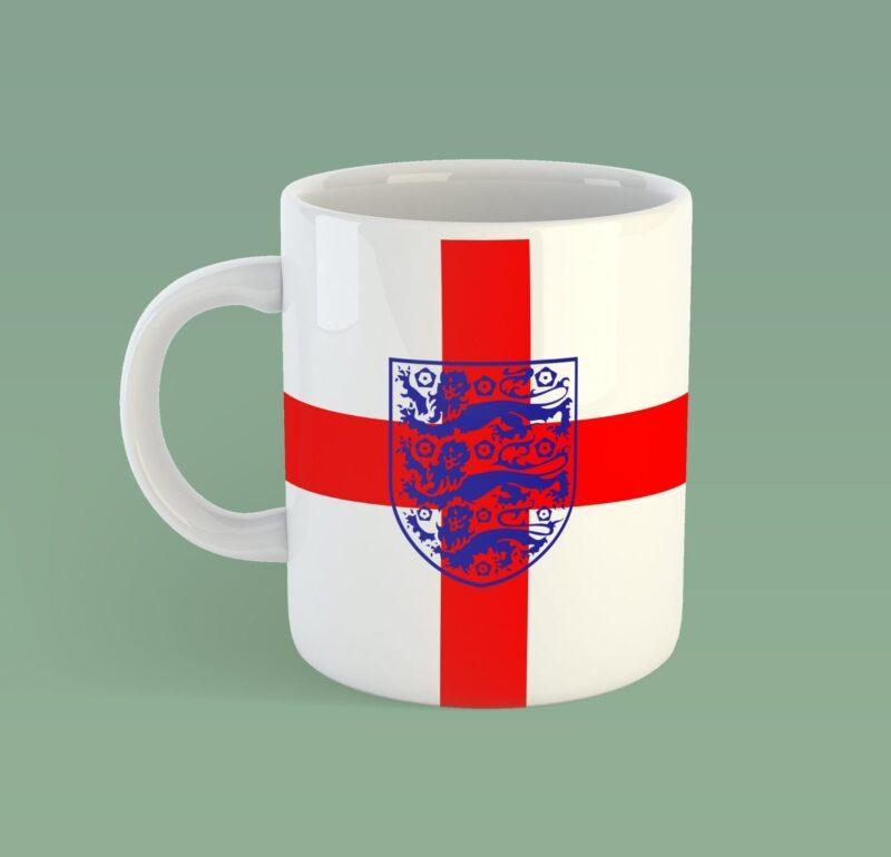 England three lions mug