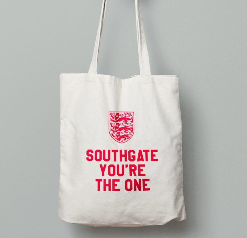 Southgate You're the one